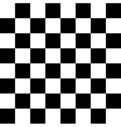 Black and white chess geometric minimal simple vector