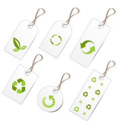Ecology tags vector