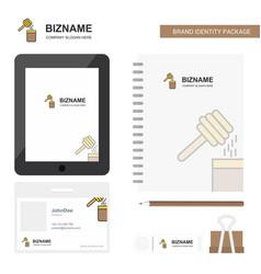 Honey business logo tab app diary pvc employee vector