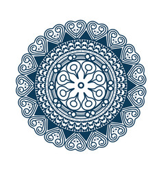 Mandala icon image vector