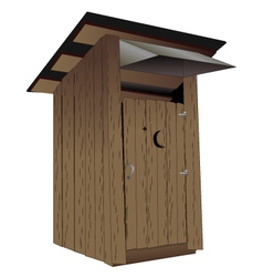 Outhouse vector