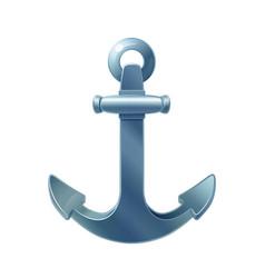Sea maritime icon anchor vector