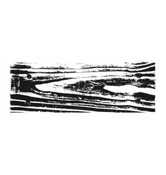 Wooden texture black white wood grain background vector