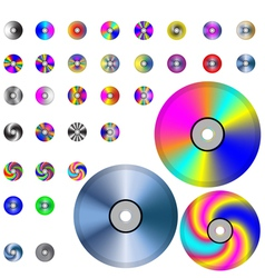 DVD vector image vector image