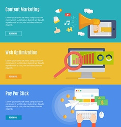 Element of internet marketing concept icon in flat vector image