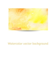 Artistic watercolor background vector