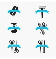 Hair cut accessories vector