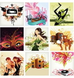 urban pop music vector image