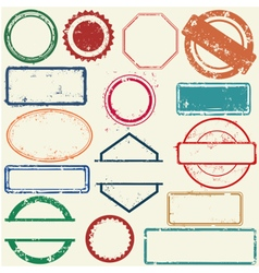 Stamps frames vector image vector image