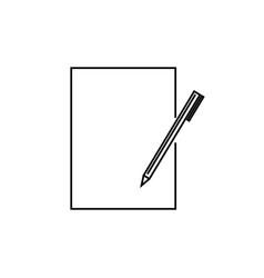 edit icon vector image