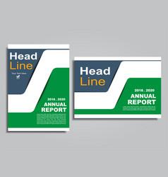 flyers report brochure cover book portfolio design vector image vector image