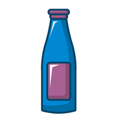 Bottle cream icon cartoon style vector