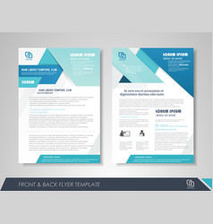 business poster template vector image