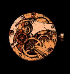 Clockwork vector