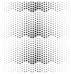 dotted abstract halftone background vector image