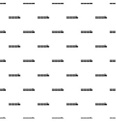 express train pattern seamless vector image