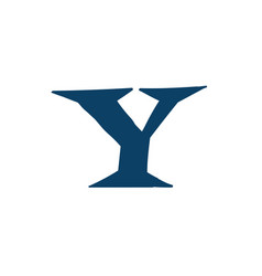 latin letter y logo for company icon for the vector image