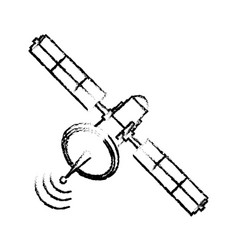 Satellite communication connection wave global vector