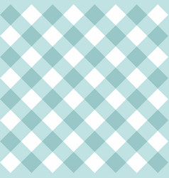 Seamless sweet mint blue and white background vector