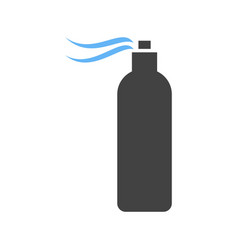 Spray bottle hairspray vector