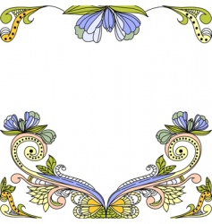 Template for decorative background vector