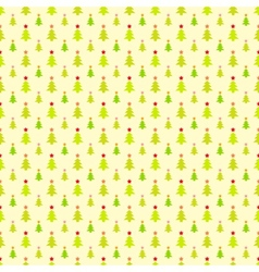 Abstract Christmas tree pattern wallpaper vector image