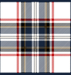 clan stewart scottish tartan plaid vector image