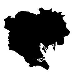Map tokyo vector
