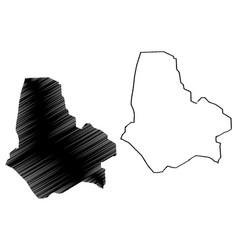 Maradi region regions niger republic the vector