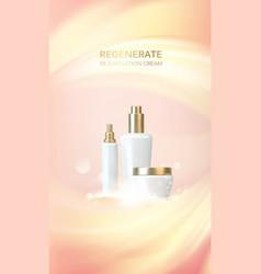 Skin care concept vector