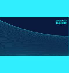 Wavy linear monochrome procedural terrain striped vector