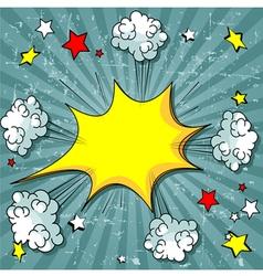 Comic Book vector image vector image