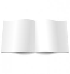 magazine spread vector image vector image