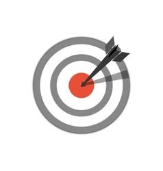 target hit vector image vector image