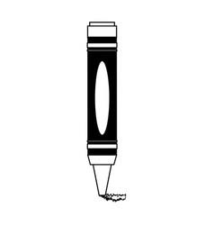 crayon coloring icon image vector image