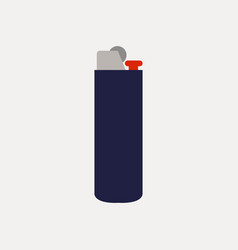 lighter icon on white background vector image