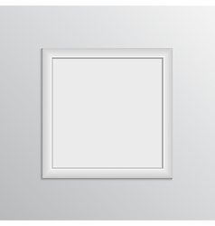 Picture frame design for painting show vector