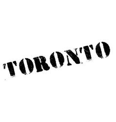 Toronto stamp rubber grunge vector image
