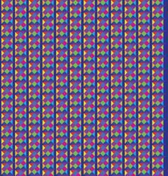 abstract seamless pattern geometric pixel stylish vector image