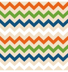 Colorful retro wave seamless pattern vector image vector image