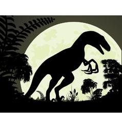 Raptor vector image vector image