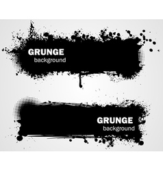 grunge backgrounds vector image vector image