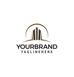 building logo design concept template vector image