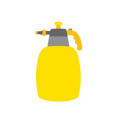 cartoon garden sprayer isolated on white vector image