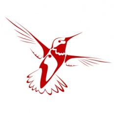 Flying bird vector