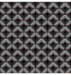geometric checked pattern vector image