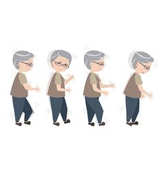 Parkinsons disease symptoms vector
