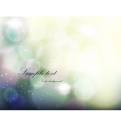 Romantic blurred background vector