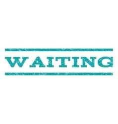 Waiting Watermark Stamp vector