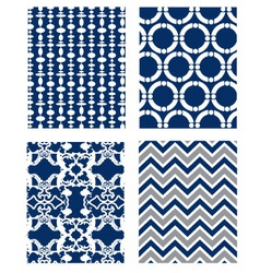 backgrounds set Pattern Wallpaper vector image vector image